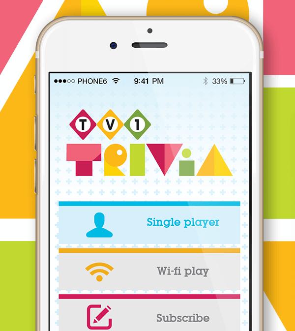 TV1 Trivia App